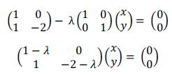 Cálculo de autovectores