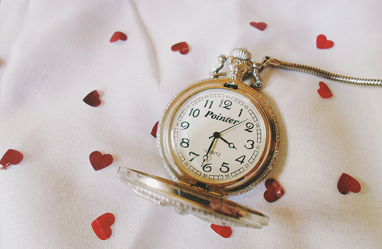 Imagem de um relógio de ponteiro
