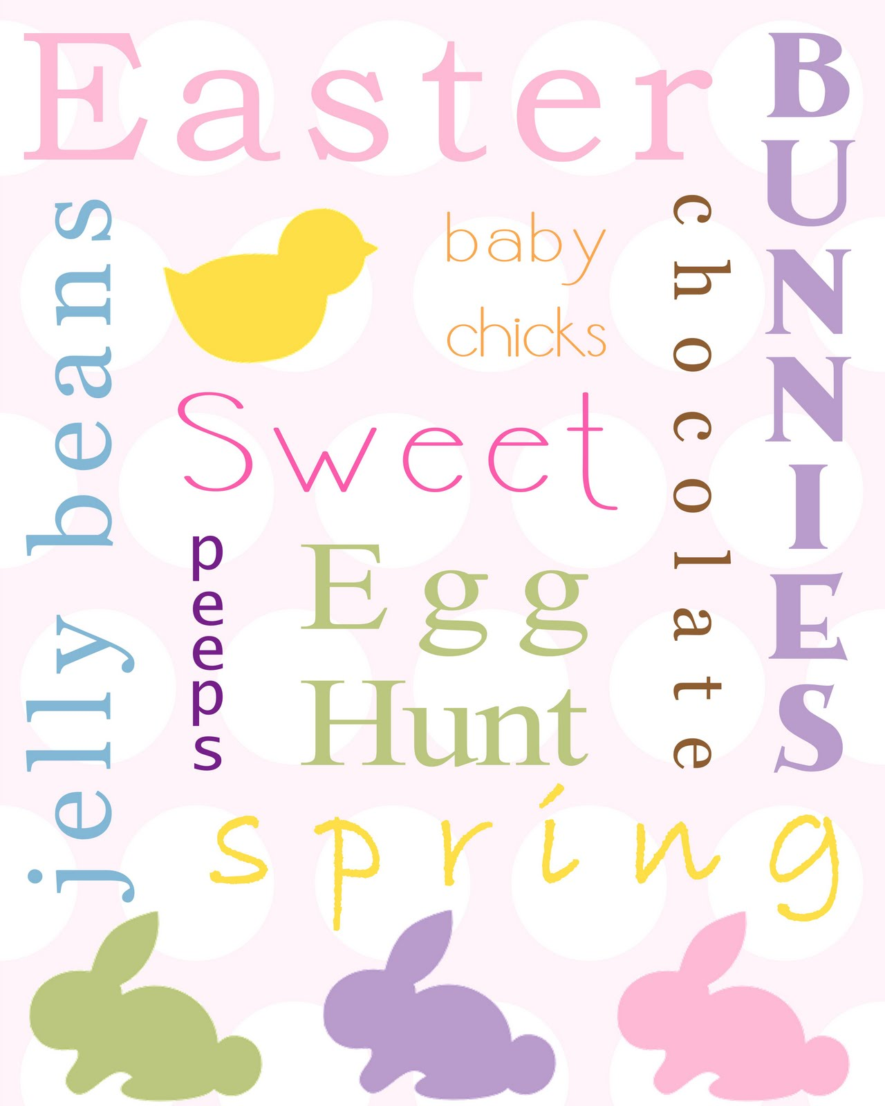 Sweet And Simple Things Free Easter Printables