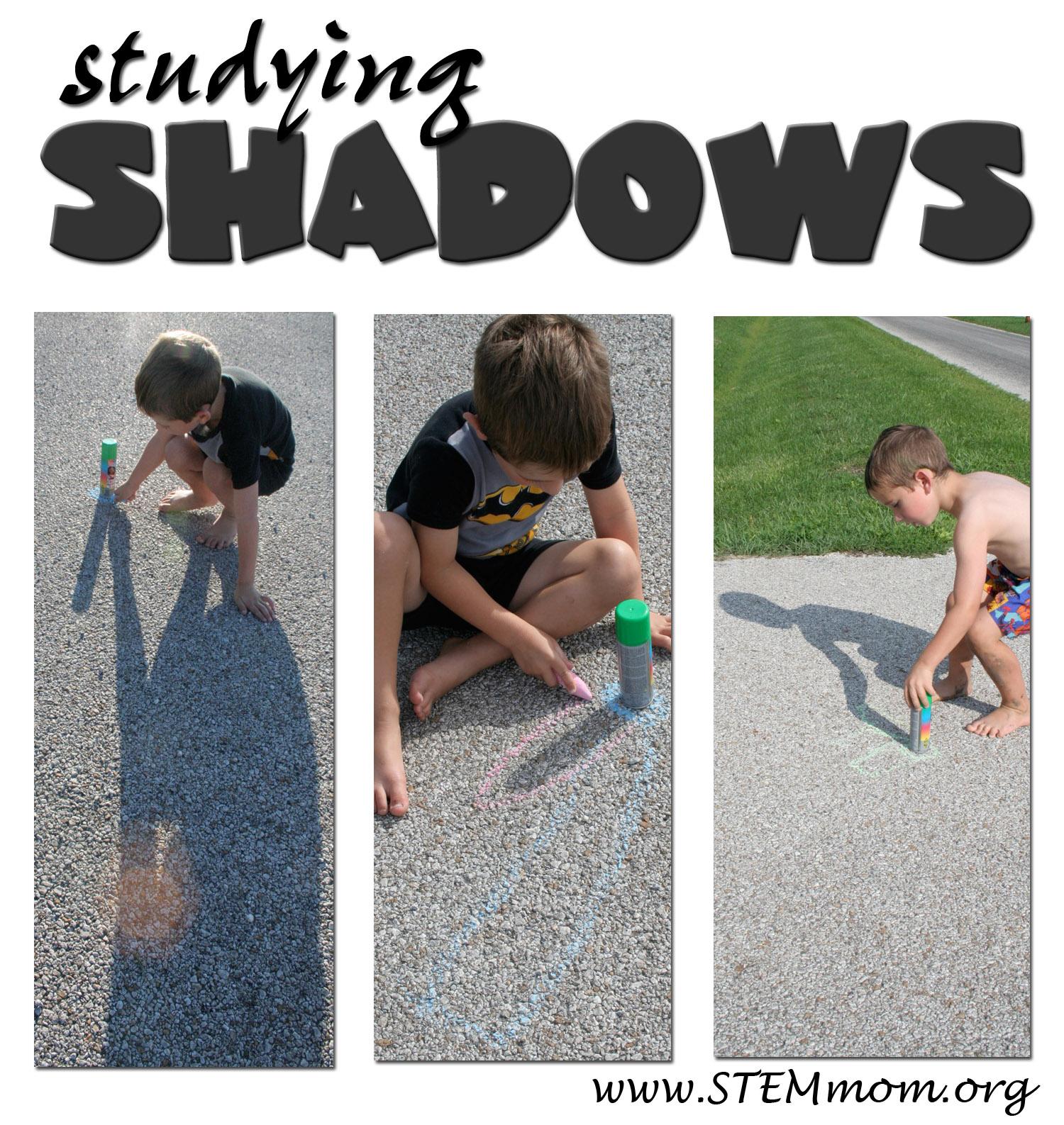Dr Stem Mom Tracing Shadows