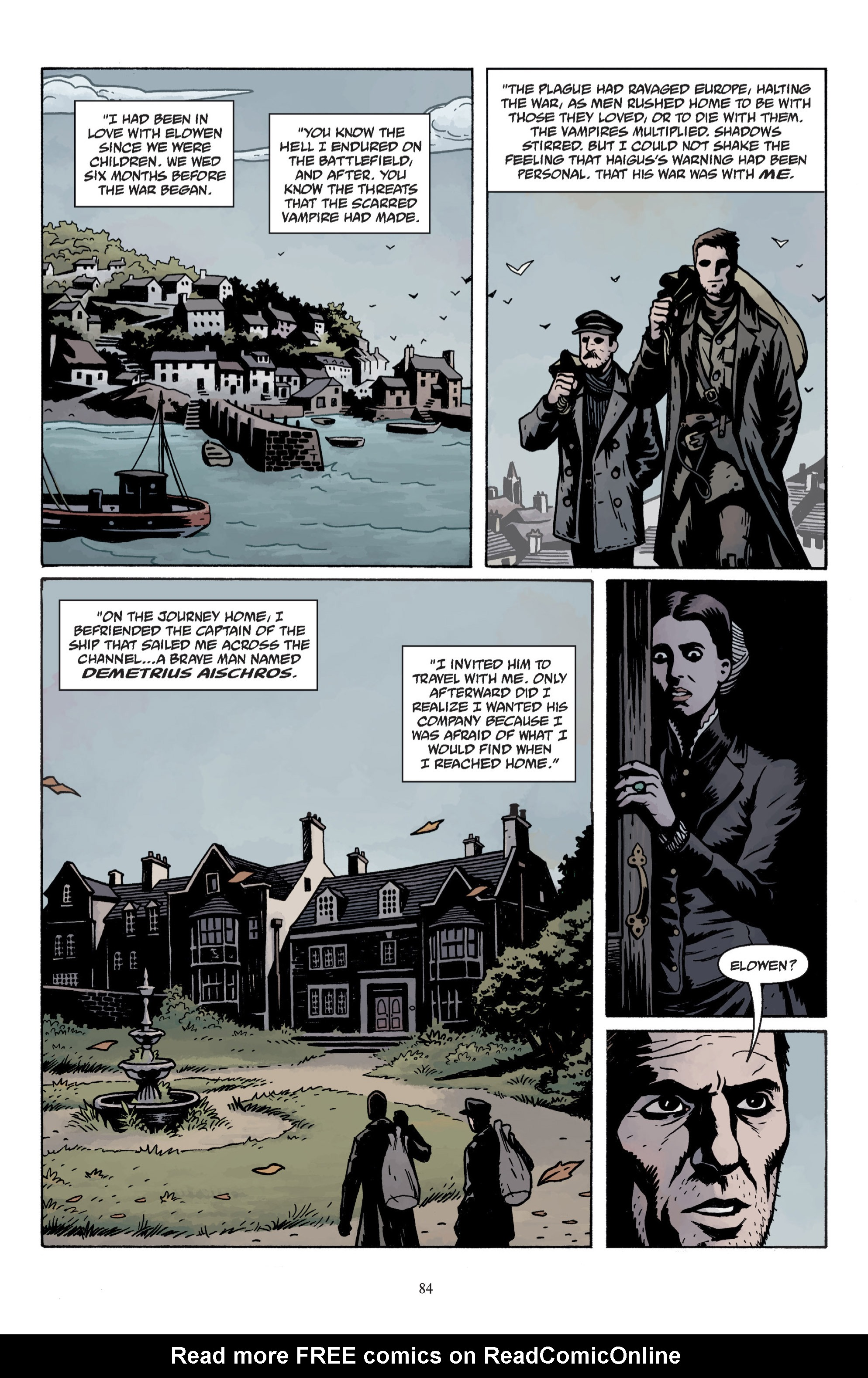 Read online Baltimore: The Plague Ships comic -  Issue # TPB - 86
