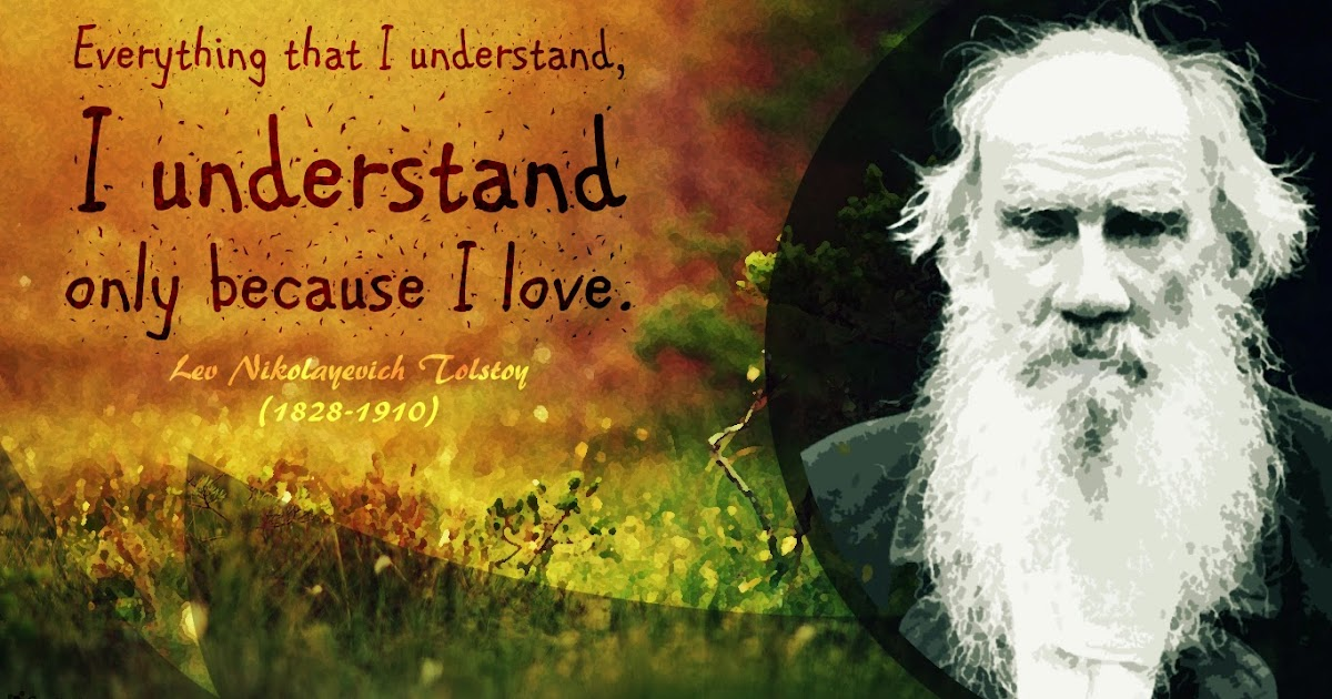 Wallpaper Of Love Quotes In English Leo Tolstoy Quote Wallpaper Creativebug
