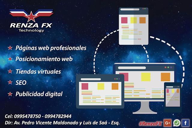 Páginas web Riobamba