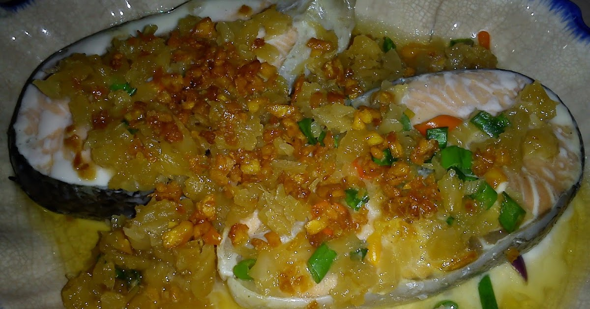 steamed salmon with garlic and ginger recipes dishmaps steamed salmon ...