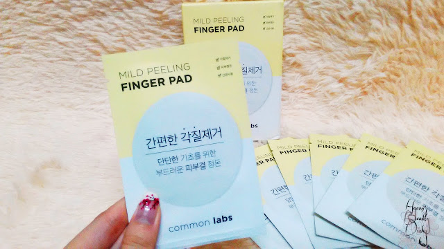 Review; common labs' Mild Peeling Finger Pad