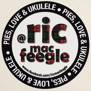 Ric McCormick Pies Love and Ukulele