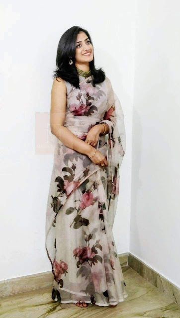 Youth Apps Fashion - Gorgett Saree & Benglory Blouse