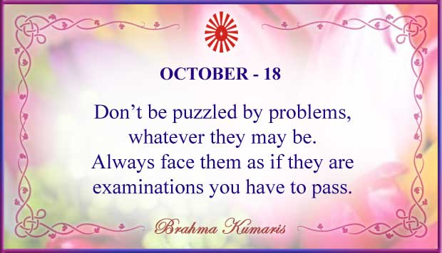 Thought For The Day October 18