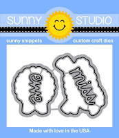 Sunny Studio Stamps: Introducing Missing Ewe Sheep Coordinating Dies