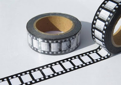 Vintage Camera Film Washi Tape