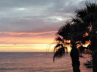 Paphos, Cyprus sunset