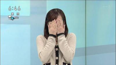 鈴木奈穂子 キス大会の中継を見て、思わず目を覆い隠してしまった仕草が可愛いと注目が... 鈴木奈
