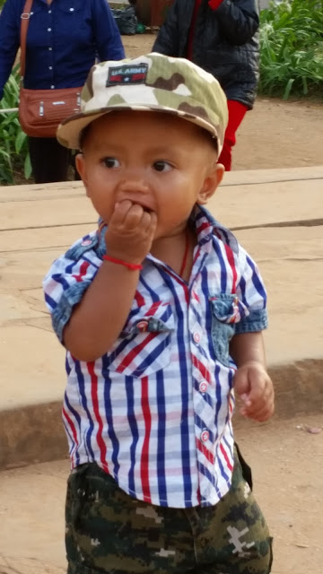 Die Welt erkunden in Kambodscha