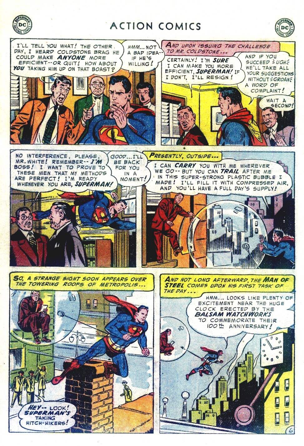 Read online Action Comics (1938) comic -  Issue #192 - 8