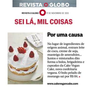 Foto da Revista o Globo o sei lá, mil coisas