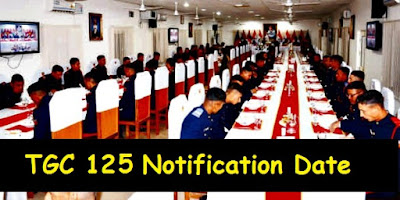 TGC 125 Notification Date