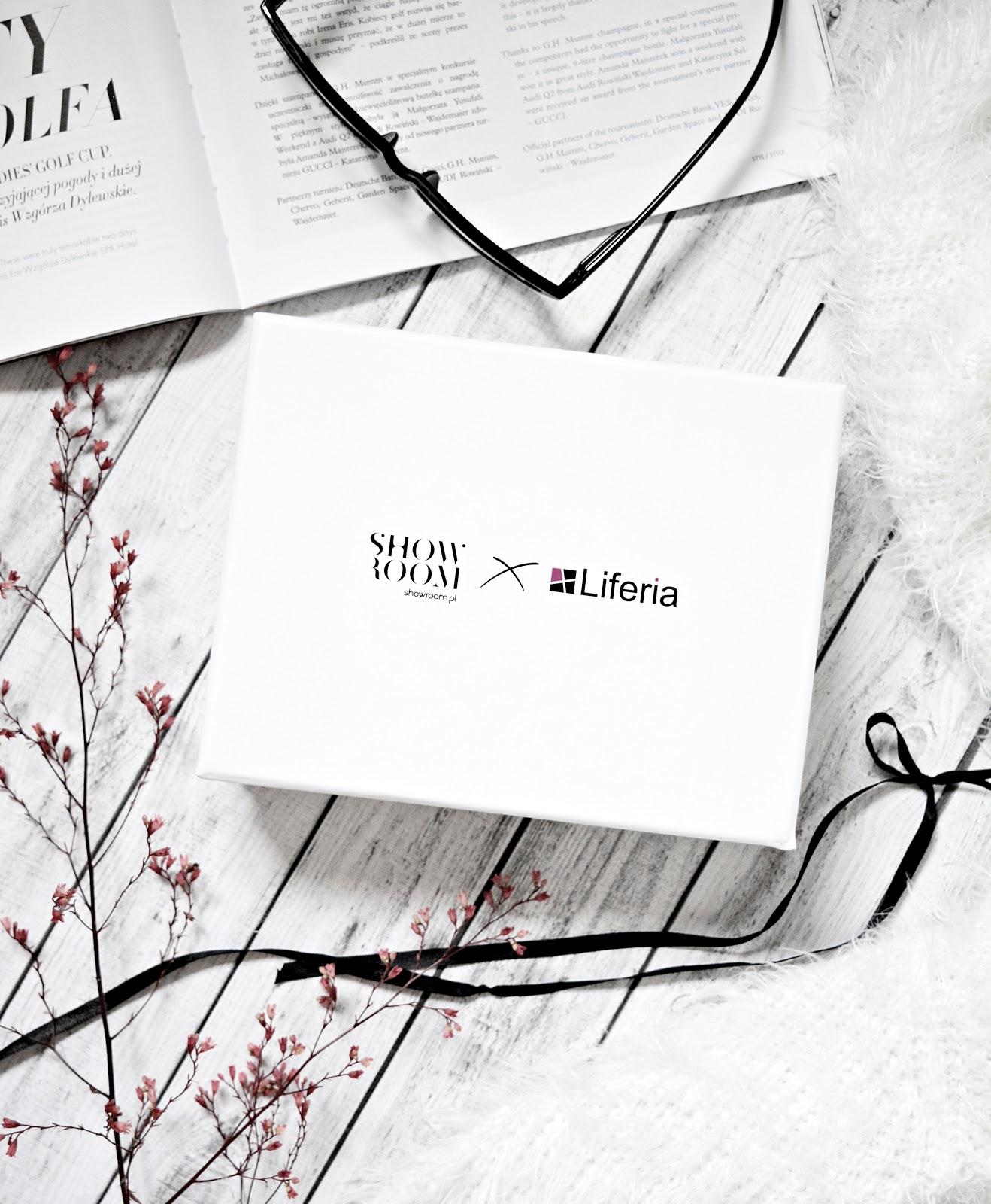 SHOWROOM & Liferia - limitowana edycja pudełka pełnego luksusu.