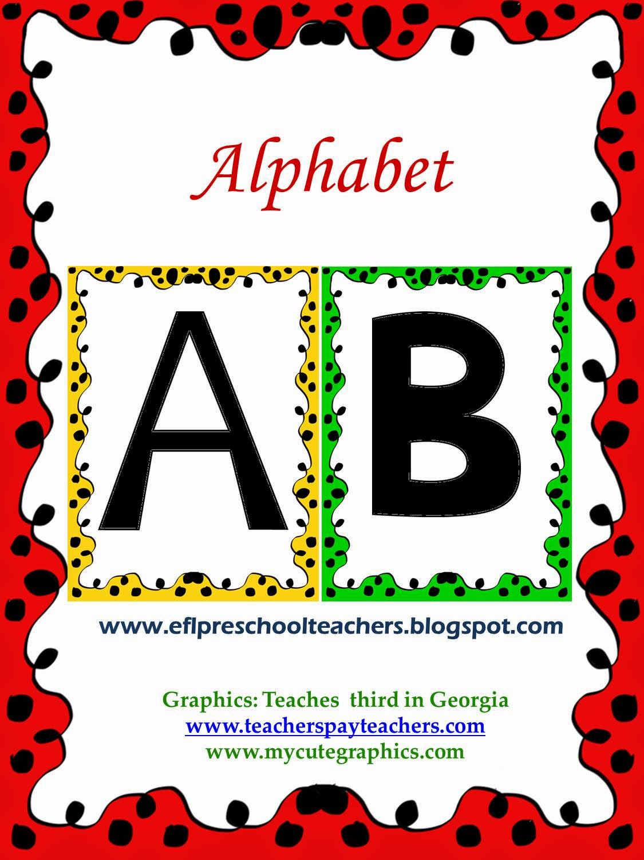 Esl Efl Preschool Teachers April