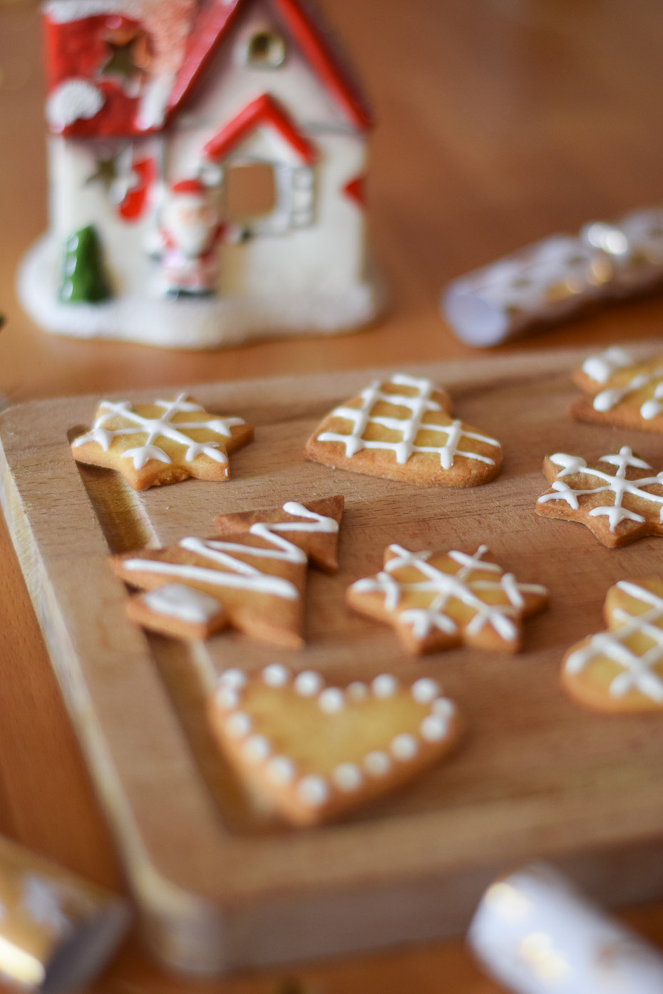 biscuit décoration sucre snowflake christmas trees