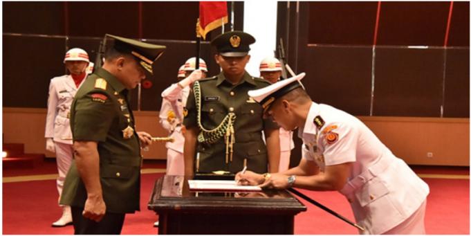 Atasi Ancaman Terkait Teknologi Informasi, Panglima TNI Resmikan Satuan Siber TNI