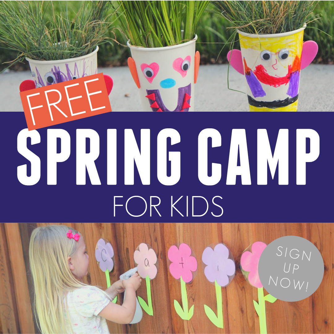 Toddler Approved Free Spring Camp For Toddlers And Preschoolers