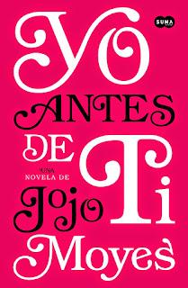 """Portada de """"Yo antes de ti"""" de Jojo Moyes"""