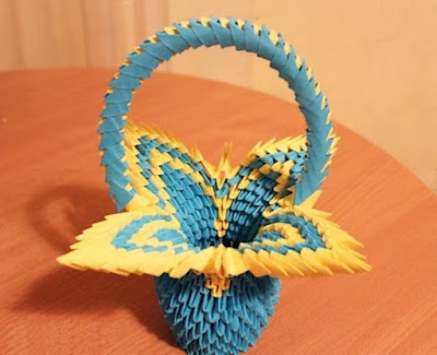 các kiểu gấp giấy origami