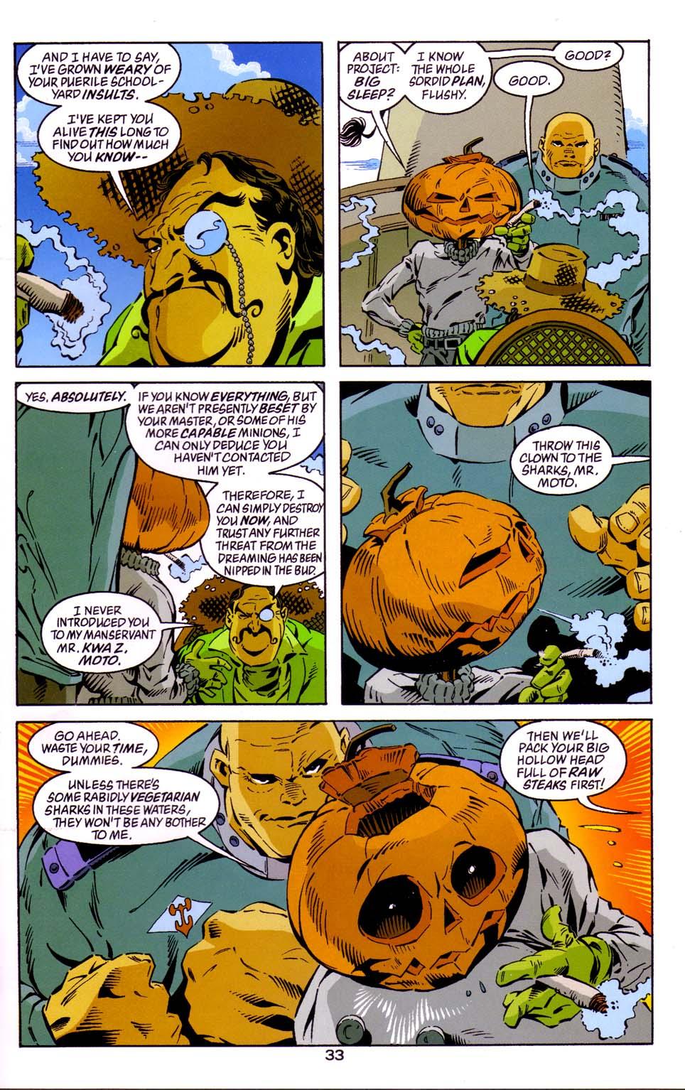 Read online Merv Pumpkinhead, Agent of D.R.E.A.M. comic -  Issue # Full - 34
