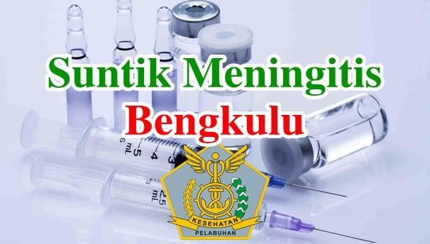 Alamat Tempat Suntik Vaksin Meningitis di Bengkulu