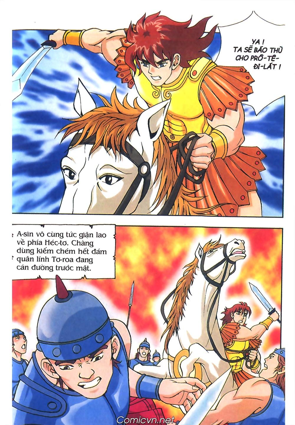 Thần Thoại Hy Lạp Màu - Chapter 55: Trận chiến đầu tiên - Pic 19