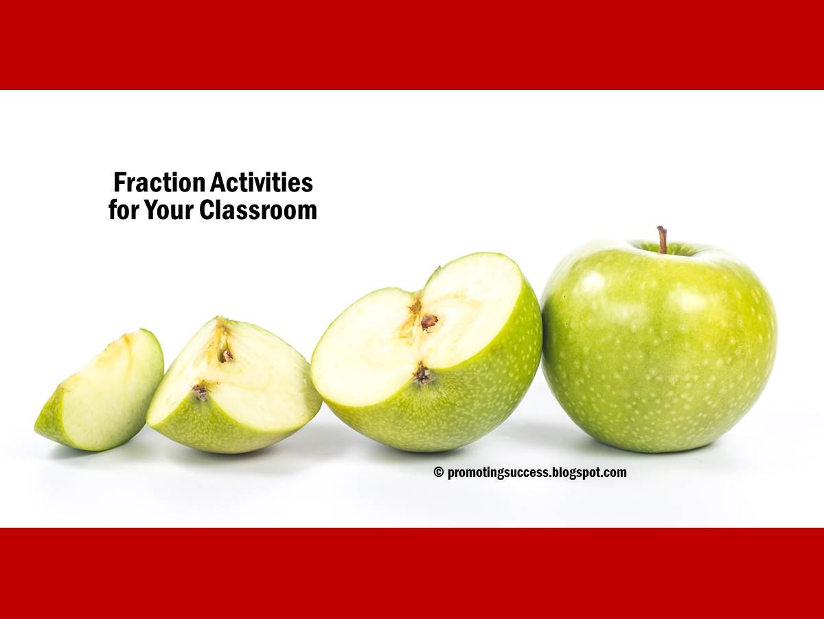 Click Here For More Fraction Activities For Your Classroom