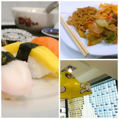 Saippuakuplia olohuoneessa- blogi, Kuva Hanna Poikkilehto, Stockmann, Hullut päivät, sushi, Lifestyle