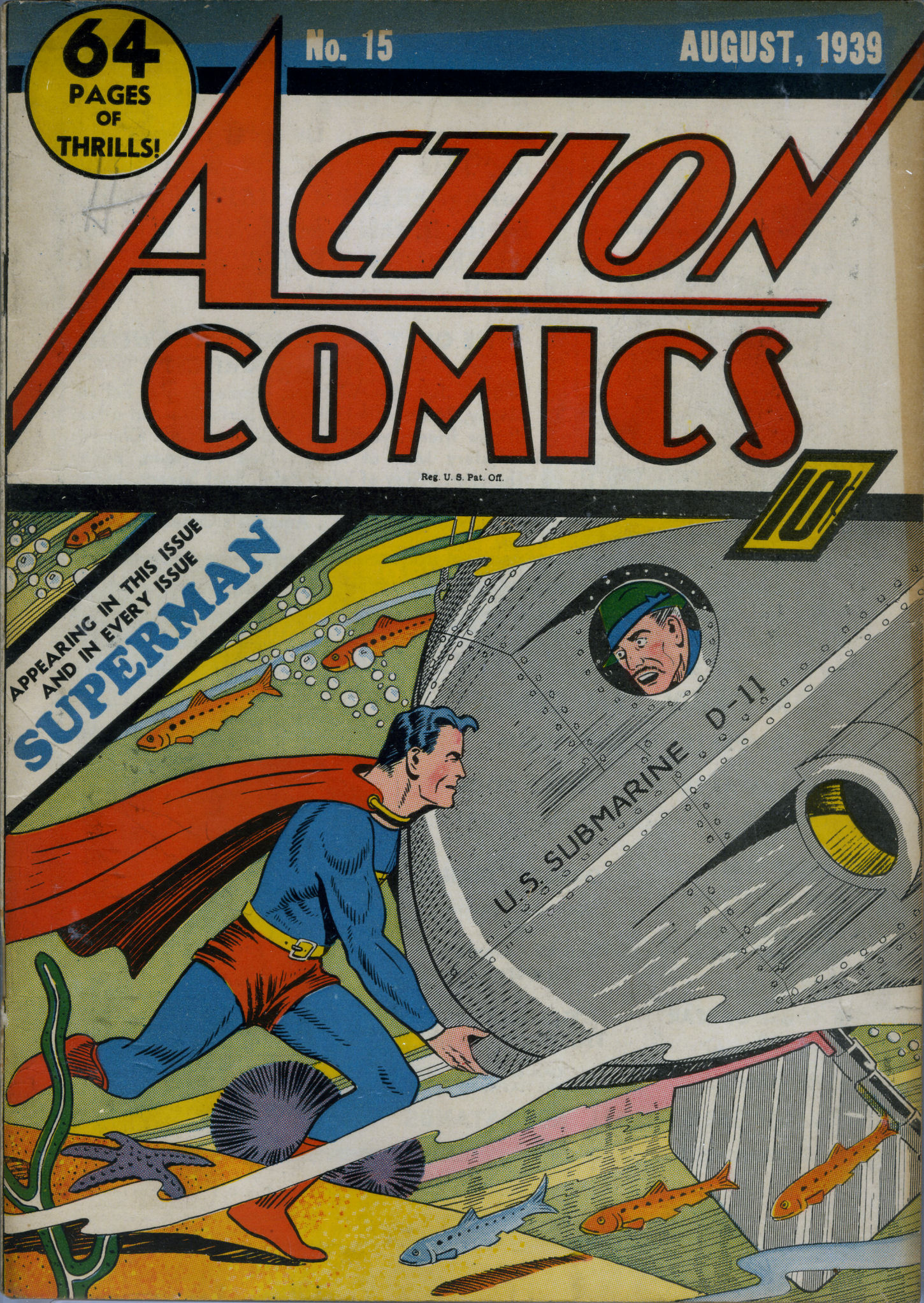 Read online Action Comics (1938) comic -  Issue #15 - 2