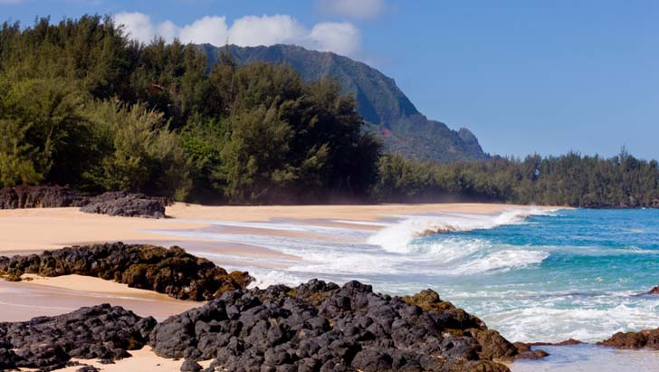 Lumahai Beach; Kauai, Hawaii