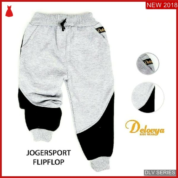 DLV09J36 Jogger Sport Anak Flipflop Celana Panjang Balita Murah BMG