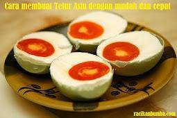 Cara membuat Telur Asin dengan mudah dan cepat