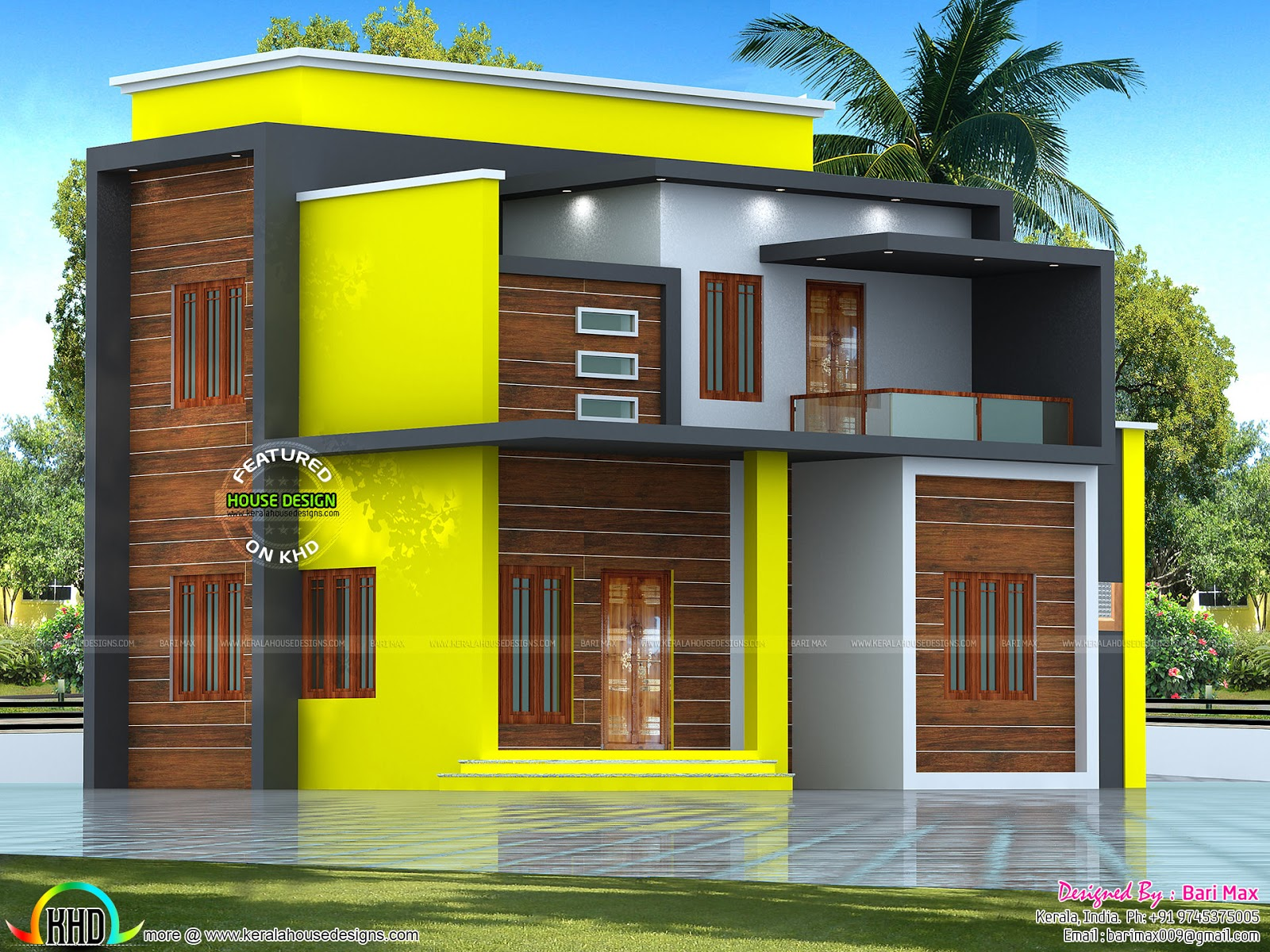 estimated 25 lakhs modern home kerala home design and