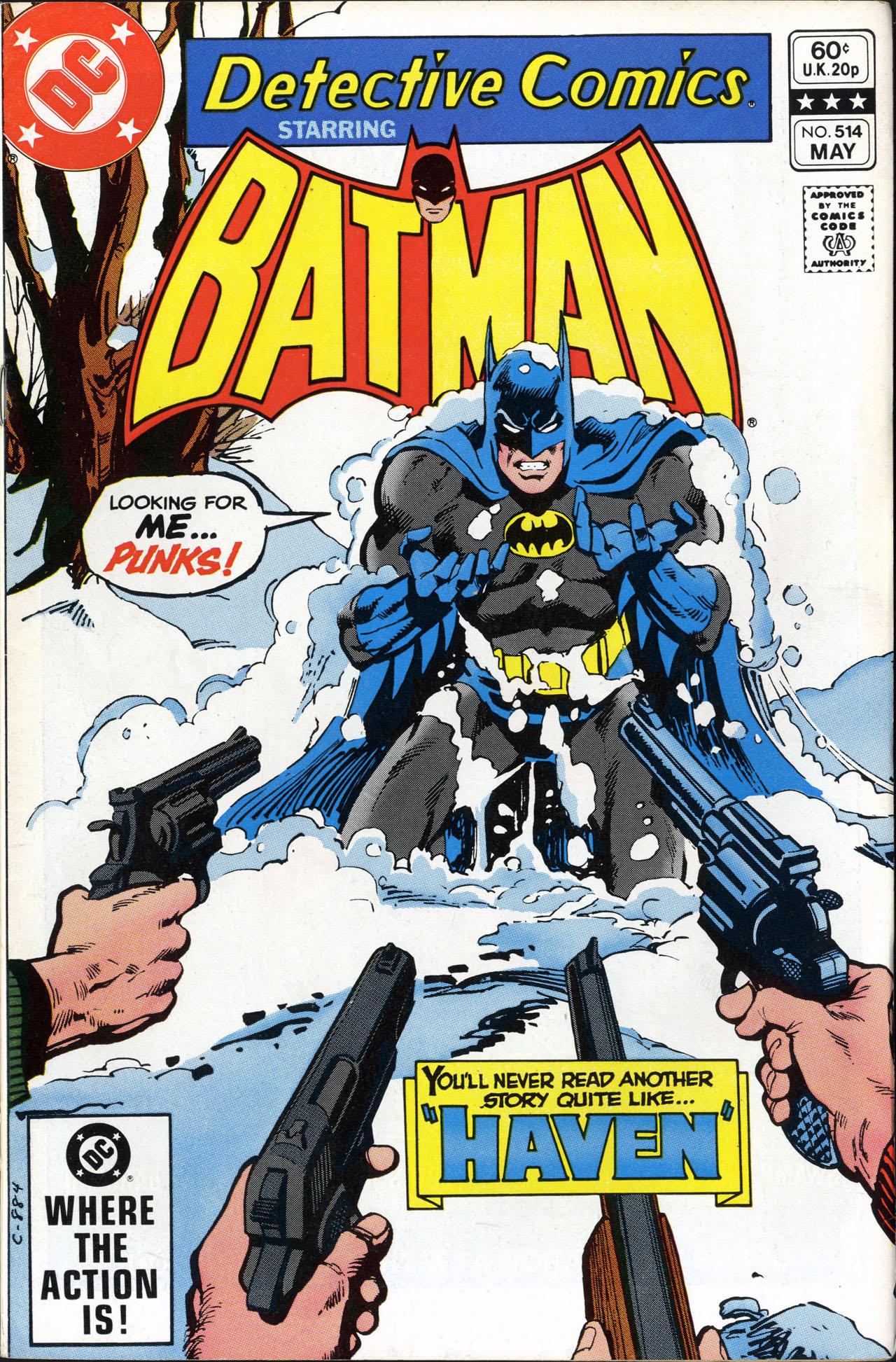 Detective Comics (1937) 514 Page 0