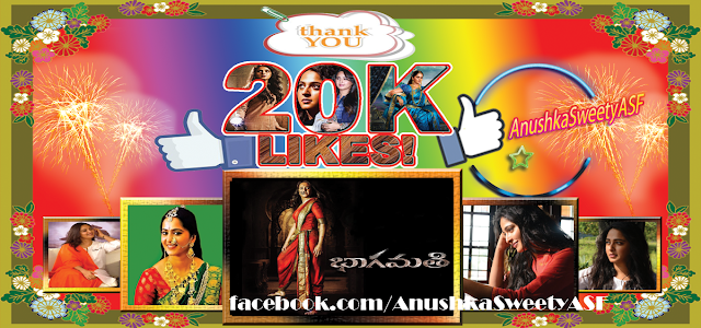Anushka Shetty 20K likes FB
