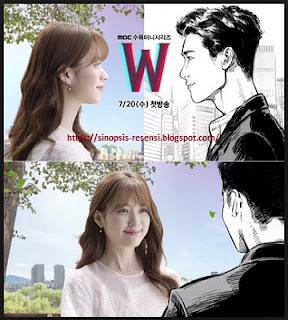 Sinopsis Drama Korea W Webtoon, Serial Drama Korea, W, Webtoon, Lee Jong Suk