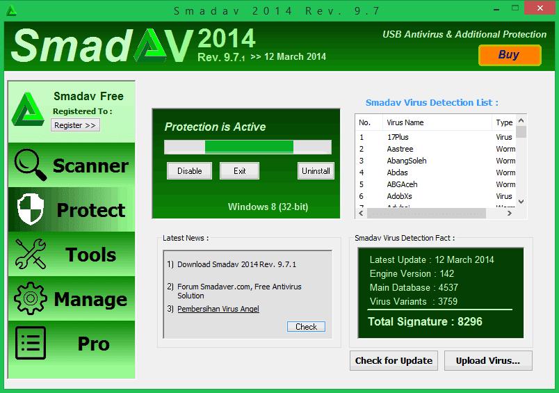 Smadav 2015 antivirus full version free download terbaru.