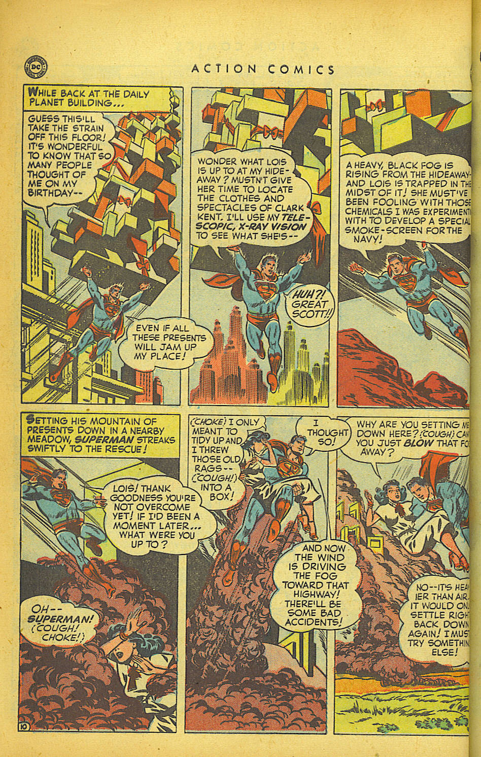 Read online Action Comics (1938) comic -  Issue #149 - 11
