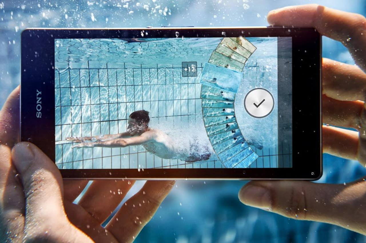 Sony Xperia Z Series Waterproof Smartphone