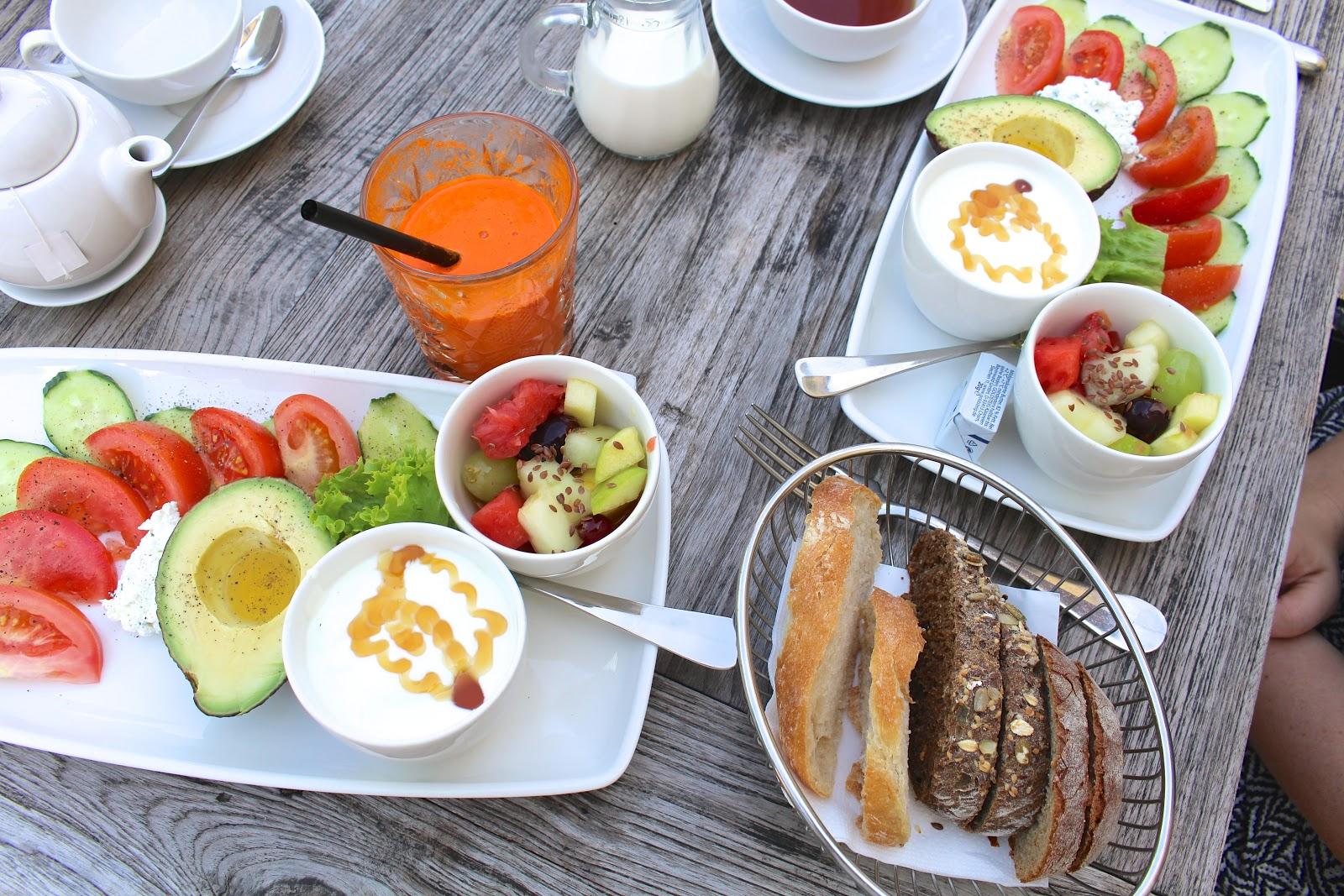 German breakfast Munich
