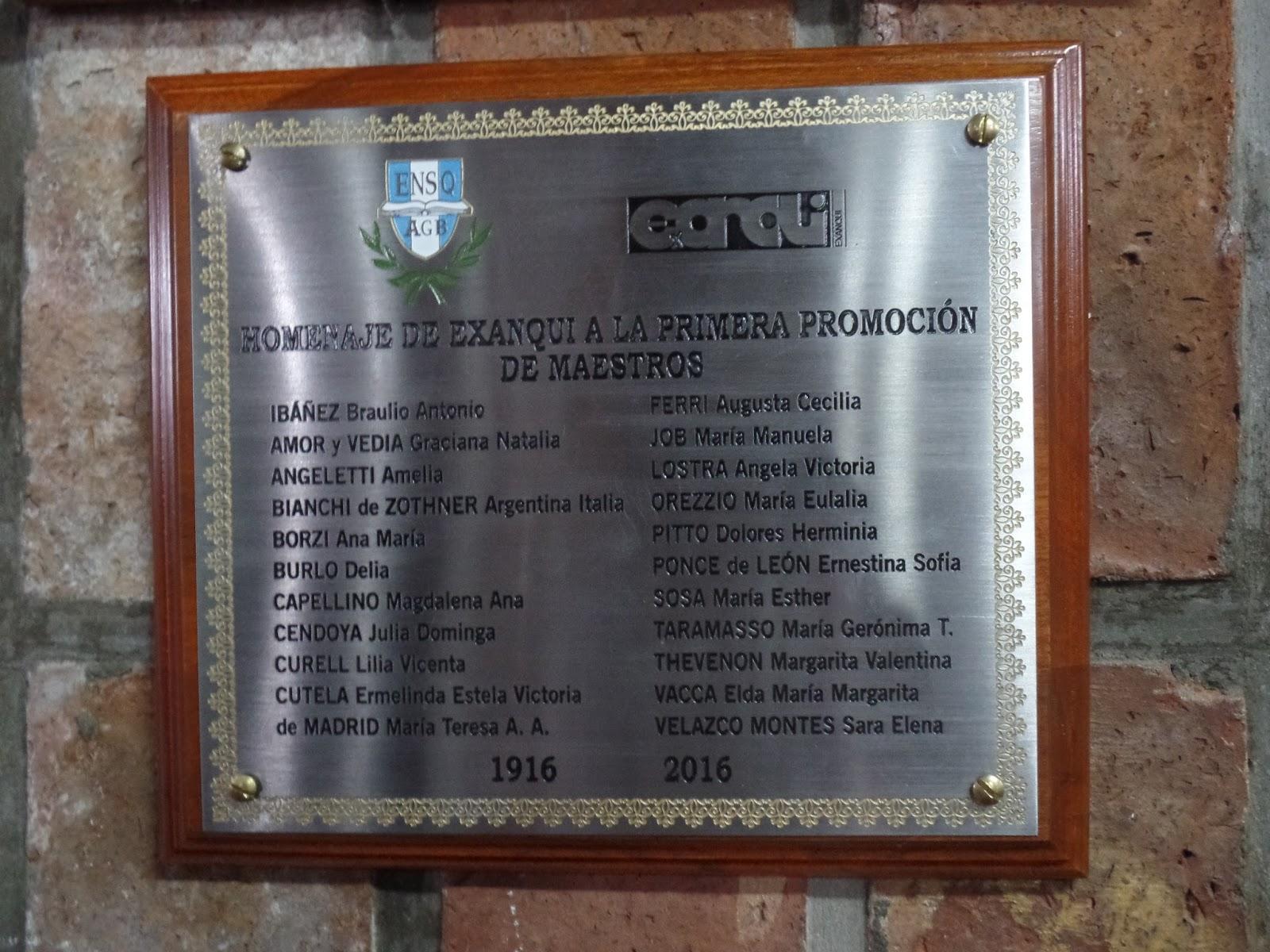 1 viernes 21 de octubre de 2016 centenario de los primeros maestros egresad0s de la escuela normal de quilmes 1916 2016