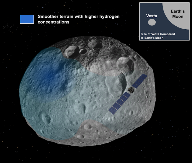 Research provides evidence of ground-ice on asteroids