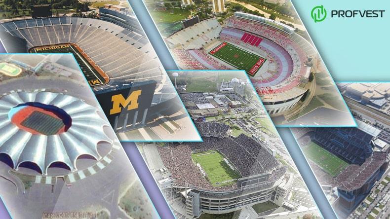 Самые большие и вместительные стадионы мира