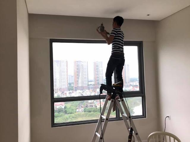 Dịch vụ sơn sửa lại căn hộ trọn gói giá rẻ tại quận 8