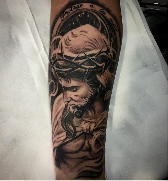 Jesus Superman Tattoos