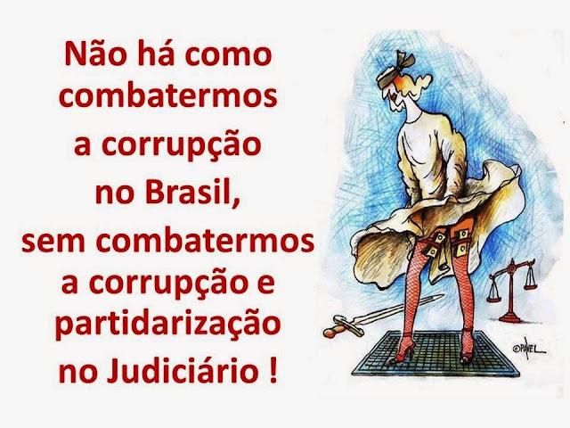 Resultado de imagem para O JUDICIÁRIO CORRUPTO